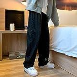 Vaqueros para Jeans Pantalones Pantalones Vaqueros Sueltos A La Moda para Hombre Pantalones Vaqueros Rectos De Invierno Nuevos para Mujer Pantalones Vaqueros Casuales Ropa De Calle