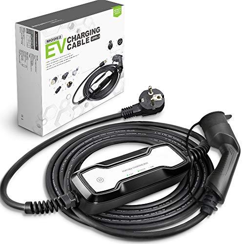 Morec Tipo 2 EV Cargador (estándar Europeo) Schuko 2 Pin ev Cable de
