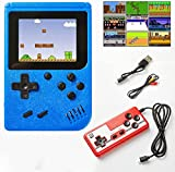 🎮【500 classic 80s games】This handheld game console provides 500 built-in classic games, including 2D, sports, racing, shooting, fighting and other games. It is suitable for adults and children. For you, this is a good opportunity to remind your child...
