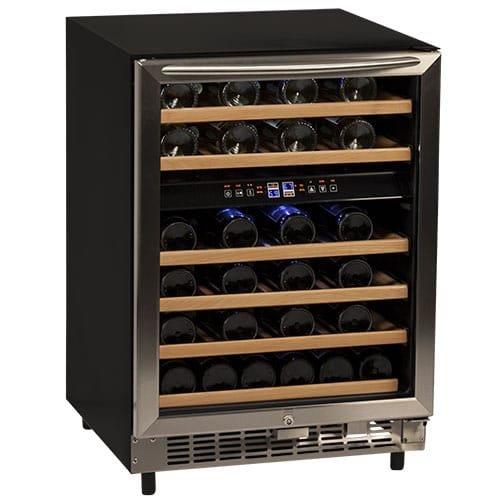 avanti wine fridges Avanti Avanti WCR5450DZ 46 Bottle Built-In Wine Cooler