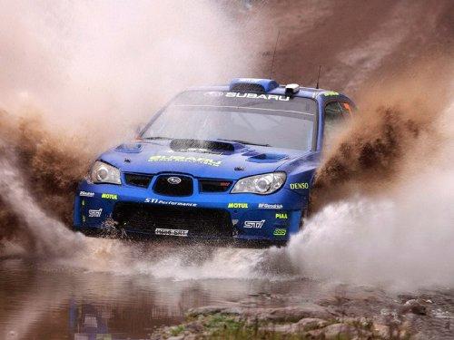 CARPRINTS Subaru Impreza WRC Poster Print A3 420x297mm SU30A3