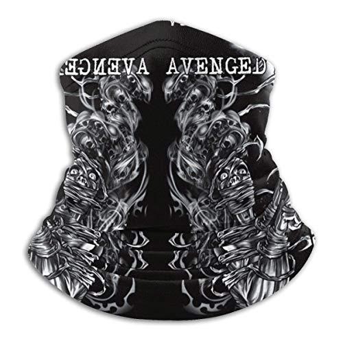 NA Avenged Sevenfold - Calentador de cuello de invierno unisex con forro polar térmico para clima frío
