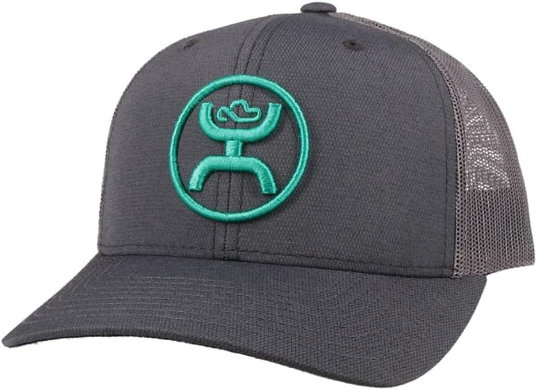 HOOEY O Classic 6-Panel Adjustable Hat w Logo Finally popular brand Trucker Spasm price