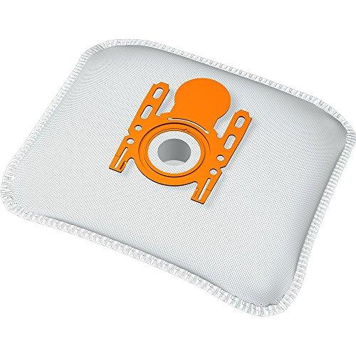 20 bolsas para aspiradora Siemens VS55E00 y VS59E20 Super XS Dino E, 5 capas con cierre higiénico, tipo de bolsa BS 216m, incluye filtro