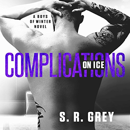 Complications on Ice audiobook cover art
