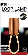 Verhaak - zaklamp led batterij 1 lm staal oranje - Oranje