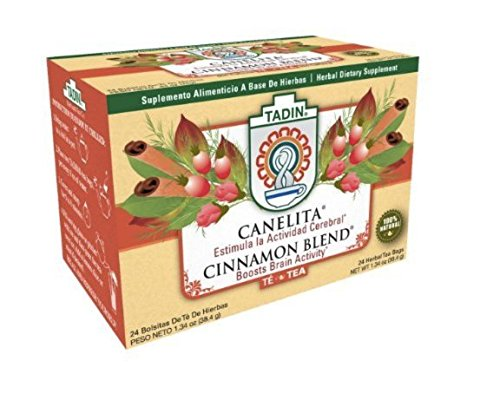 Canelita Cinnamon Blend Herbal Tea (24 bags)