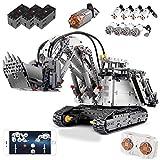 4062 Piezas Modelo Construcción, Technic Excavadora con 9 Motores, Excavadora controlada por App, Brazo robótico con RC 2,4 G Mando a Distancia, Apto para Adultos y niños