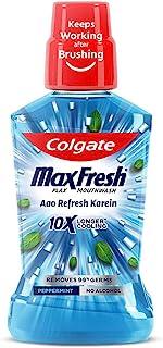 Colgate Plax Antibacterial Mouthwash, 24/7 Fresh Breath - 500ml, (Pepper Mint)