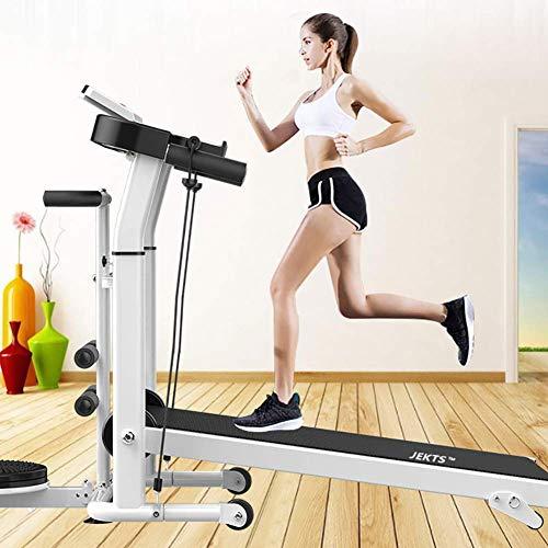 WYZXR Mechanisches Laufband, Heimfitnessgeräte, kleines zusammenklappbares Laufband zum Abnehmen, Sportgeräte für stumme Laufmaschinen
