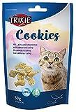 Trixie 42743 Cookies mit Lachs und Catnip, 50 g