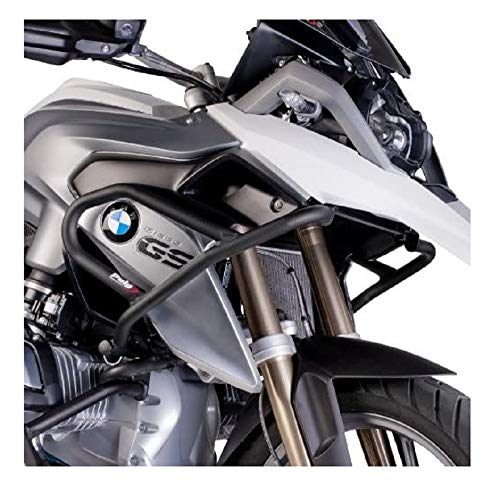 Puig 7542N Engine Guard Up per BMW R1200GS Till data 2014, colore: nero