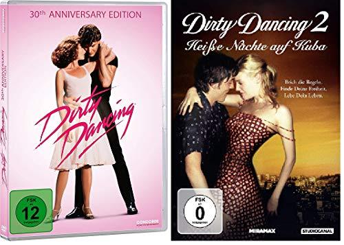 Dirty Dancing 1+2 (30th Anniversary + Heiße Nächte auf Kuba) im Set - Deutsche Originalware [2 DVDs]
