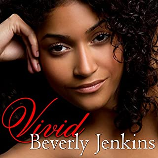 Vivid audiobook cover art