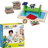 Beleduc 22411 Find Monty Kinder und Familienspiel -