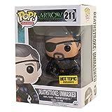 Funko 024787Pop Television: Arrow Deathstroke: al Descubierto 211. Figura de Vinilo....