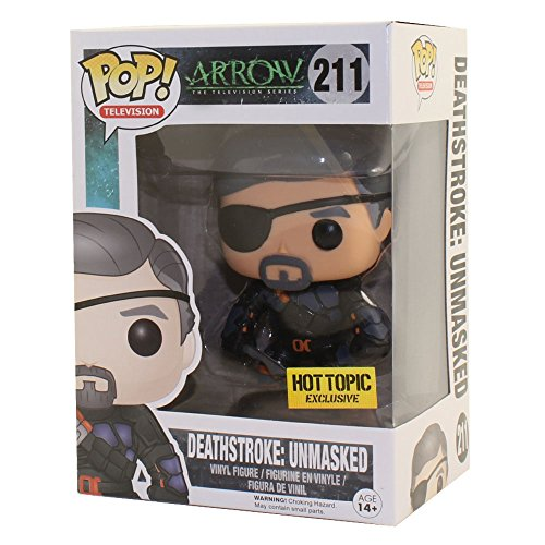 Funko 024787 Pop Television: Arrow Deathstroke: Unmasked 211 Vinyl Figure