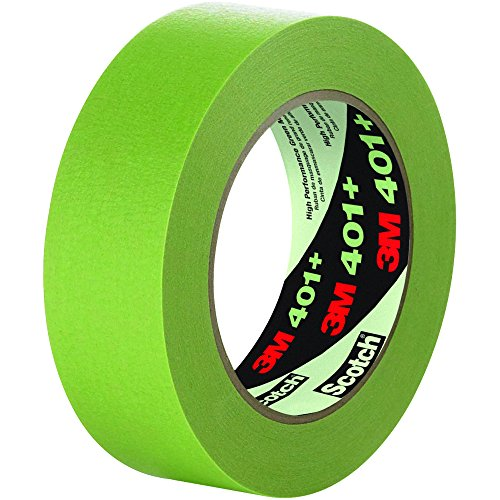 3M Scotch 401+ High Performance Green Masking Tape: 2 in. x 60 yds. (Green)