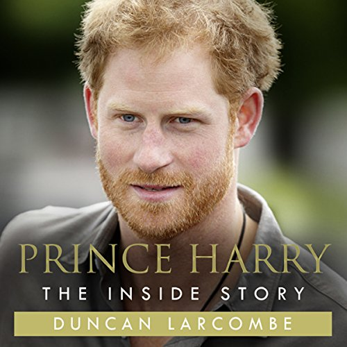 Prince Harry: The Inside Story audiobook cover art