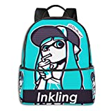 Inking Girl V Octoling Girl Splat Jersey Sweat Student School Bag Escuela Ciclismo Tiempo libre Viajes Camping Outdoor Bapack
