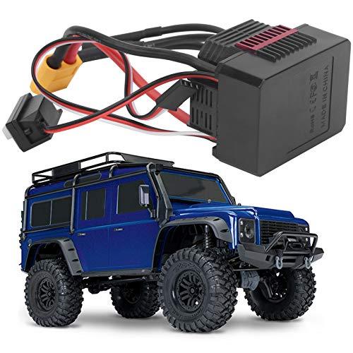 CUEA Controlador de Velocidad eléctrico, Accesorio RC Duradero para Coches RC 1/10 para usuarios de Coches RC para Coches RC 1/12