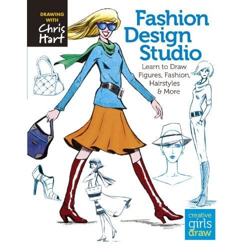 Fashion Design Sketch Book Amazoncom