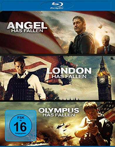 Olympus/London/Angel has fallen - Triple Film Collection [Blu-ray]