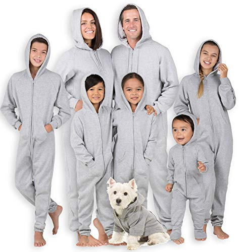 Joggies - Family Matching University Gray Hoodie...