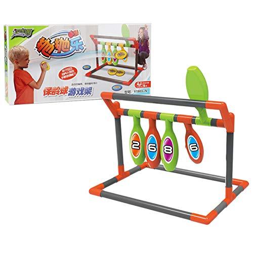 AIflyMi Juego de Juego de Golf para Interior y Exterior, Juego de Lanzamiento de Bolsa de Arena con 5 Objetivos, 4 Bolas, tuberías, Juego de Patio al Aire Libre para niños, Adultos, Familia
