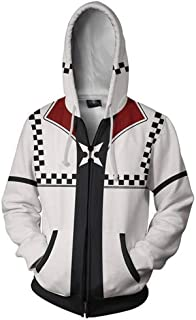 Unizero Kingdom Hearts Roxsa Zip Up Hoodie Jacket
