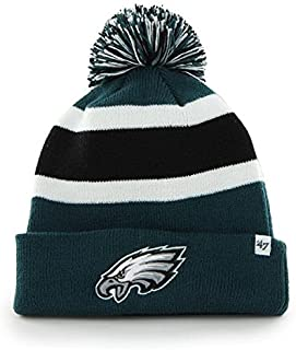 75e8a332 '47 Brand Breakaway Fashion Cuff Beanie Hat with POM POM - NFL Cuffed Winter  Knit. '