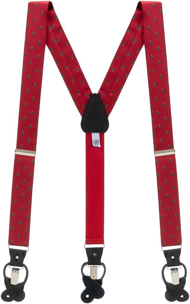 Oxford Kent by SuspenderStore Men's Winter Suspenders by Oxford Kent