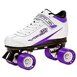 Roller Derby patins à roulettes viper m4 women's speed quad skate Multicolore Weiß/Lila/Schwarz 5