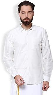 SVANIK White Blended Solid Shirt