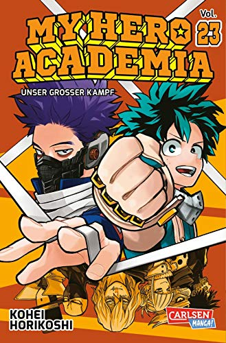 My Hero Academia 23: Die erste Auflage immer mit Glow-in-the-Dark-Effekt auf dem Cover! Yeah!