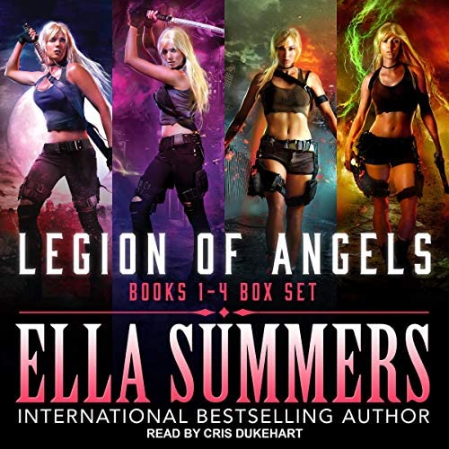Legion of Angels Books 1 4 Box Set product image