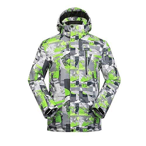 YABAISHI Winterjacke Skijacke Skijacke Männer Winterjacke Herren Snowboard-Jacke der Männer Ski-Sport-Mantel Snowboard Schneejacken (Color : Yellow Jacket, Size : M)