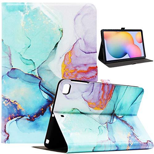 Bbjjkkz iPad Mini Case, Case for iPad Mini 4, iPad Mini 5 Case, iPad Mini 2/3 Case, Ultra Slim PU Leather Folio Smart Stand Case for 7.9 Inch iPad Mini 2/3/4/5 Tablet, Marble Green