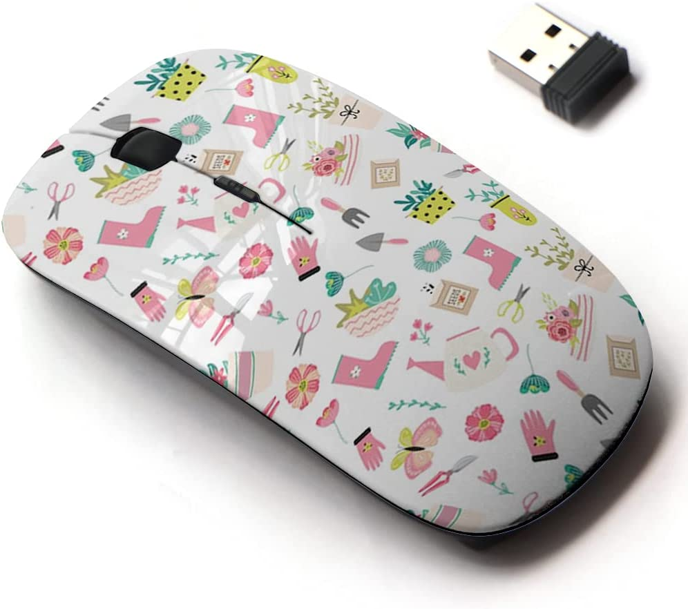 2.4G Wireless Austin Mall Mouse with Cute Pattern Laptops for SALENEW very popular! Design All and