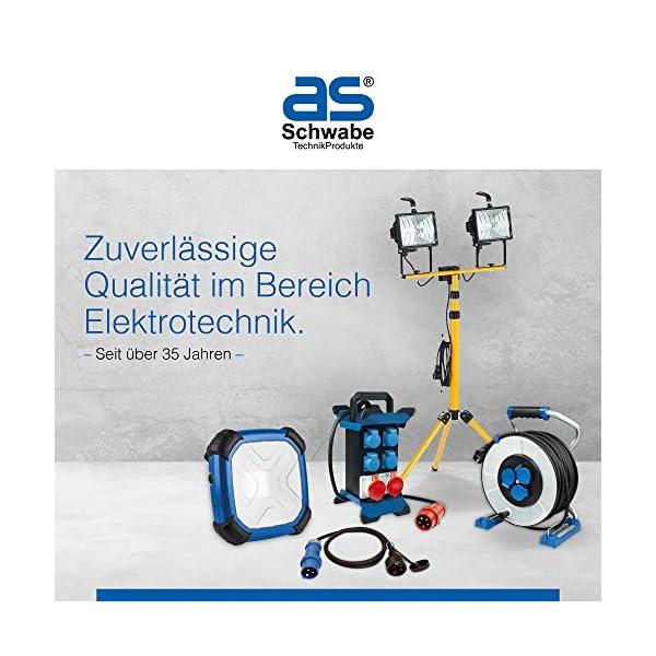 As Schwabe 12613 Profi – Enrollador de mangueras de aire comprimido (15 m, poliuretano, 8×12, IP20, para uso en…