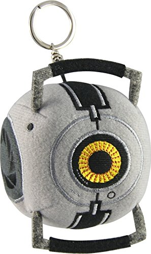 A Crowded Coop - Portal 2 Plush Keychain Space Sphere by Crowded Coop