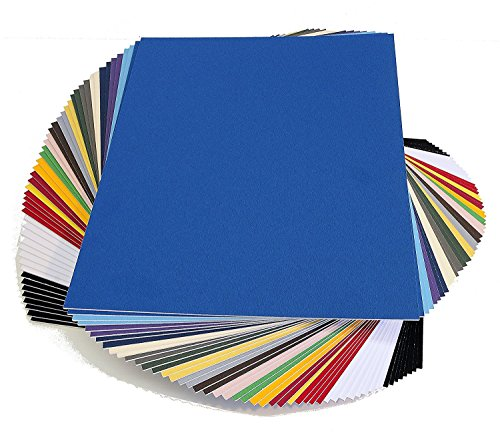 topseller100, Pack of 50 sheets 8x10 UNCUT matboard / mat boards (Mix)