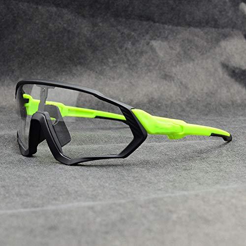 PSHKJ Gafas fotocromáticas Gafas de sol de ciclismo Hombres mujeres Deporte Mtb...