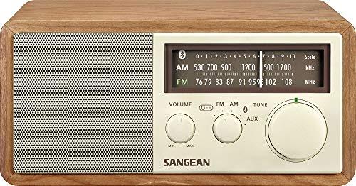 SANGEAN FM/AMラジオ対応 ブルートゥーススピーカー チェリー WR-302 [Bluetooth対応]