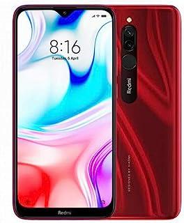Xiaomi Redmi 8  Smartphone, Dual SIM 4GB RAM 64GB, LTE  - Ruby Red