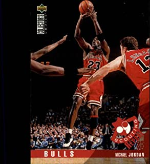 1995 Collector's Choice Basketball Card (1995-96) #324 Michael Jordan