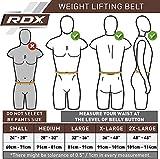 RDX Gewichthebergürtel (Loch-Verschluss) - 3
