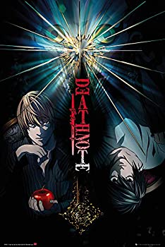 POSTER STOP ONLINE Death Note - Manga/Anime TV Show Poster/Print  Duo - Light vs L   Size 24  x 36