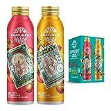 AMARUMAYU Camu Camu & Buriti Superfruit Juice Variety Pack (6-pack), Immune System Booster with Natural Antioxidants, 16 fl. oz. Aluminum Bottles