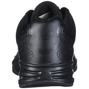 New Balance mens 411 V1 Walking Shoe, Black/Black, 10.5 US